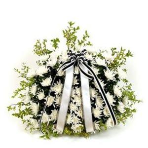 국화꽃바구니